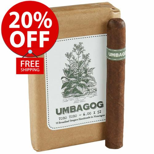 Umbagog Toro Toro (6x52 / Bundle 10) + 20% OFF RETAIL! + FREE SHIPPING ON YOUR ENTIRE ORDER!