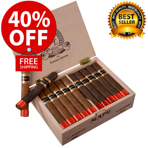 DBL Cigars MAFU Cameroon Toro (6x54 / 10 PACK SPECIAL) + 40% OFF RETAIL! + FREE SHIPPING ON YOUR ENTIRE ORDER!