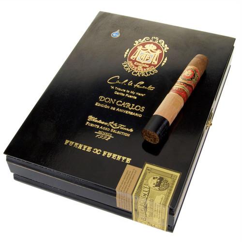 Don Carlos Edicion de Aniversario Double Robusto Tubo (5.25x50 / 5 Pack)