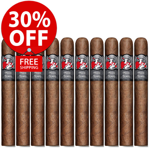 La Gloria Cubana Medio Tiempo Robusto (5x54 / 10 PACK SPECIAL) + 30% OFF RETAIL! + FREE SHIPPING ON YOUR ENTIRE ORDER!