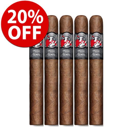 La Gloria Cubana Medio Tiempo Robusto (5x54 / 5 Pack) + 20% OFF RETAIL!