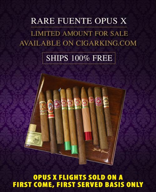 Arturo Fuente Rare Opus X SHARK 77 Special Flight (10 CIGAR SPECIAL) + FREE SHIPPING ON YOUR ENTIRE ORDER!