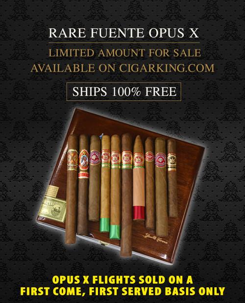 Arturo Fuente Rare Opus X Double Corona Special Flight (10 CIGAR SPECIAL) + FREE SHIPPING ON YOUR ENTIRE ORDER!