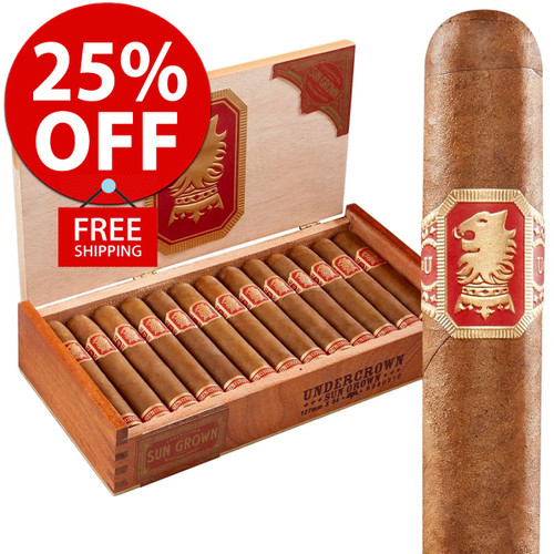 Drew Estate Undercrown Sungrown Robusto (5x54 / 10 PACK SPECIAL) + 25% OFF RETAIL! + FREE SHIPPING ON YOUR ENTIRE ORDER!