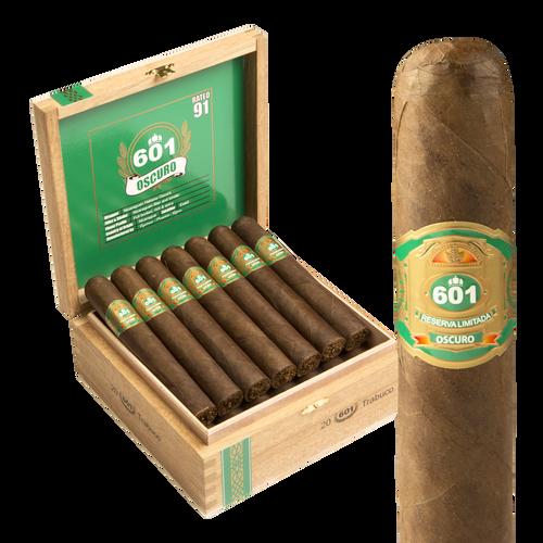 601 Green Oscuro By Espinosa Trabuco ( 6.1x58 / Box 20)