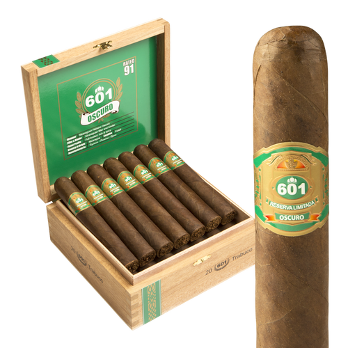 601 Green Oscuro By Espinosa Trabuco ( 6.1x58 / 10 Pack)