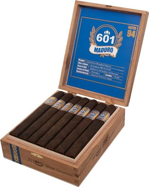 601 Maduro by Espinosa Short Churchill (6.5x50 / Box 20)