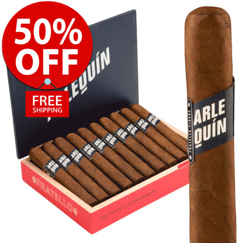 Fratello Arlequin Toro (6.25x54 / 10 PACK SPECIAL) + 50% OFF RETAIL! + FREE SHIPPING ON YOUR ENTIRE ORDER!