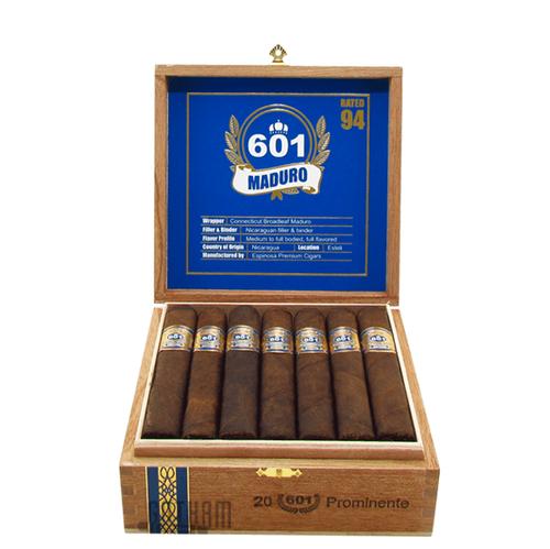 601 Maduro by Espinosa Prominente (5.5x56 / Box 20)