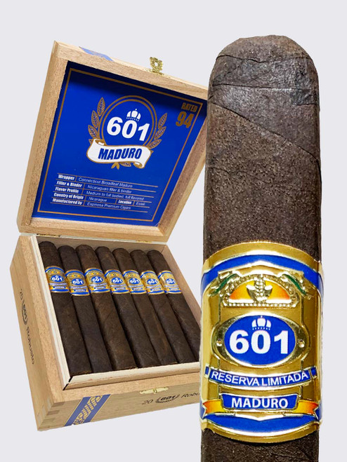 601 Maduro by Espinosa Robusto (5.25x52 / Box 20)