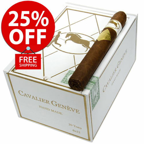 Cavalier Geneve Toro (6x52 / 10 PACK SPECIAL) + 25% OFF RETAIL! + FREE SHIPPING ON YOUR ENTIRE ORDER!