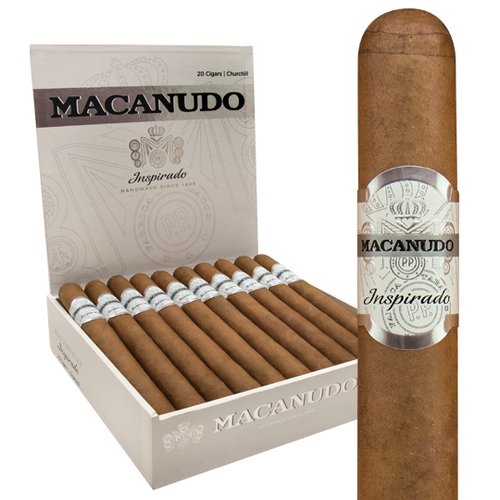 Macanudo Inspirado White Corona (5.5x42 / 5 Pack)