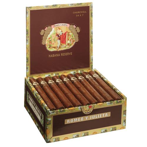 Romeo y Julieta Habana Reserve Churchill (7x54 / Box 27)