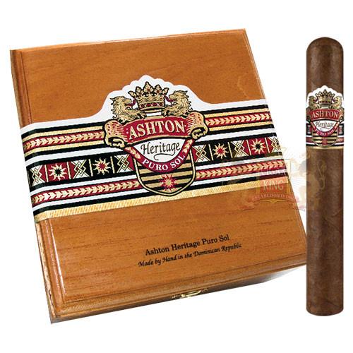 Ashton Heritage Puro Sol Robusto (5.5x50 / Box 25)