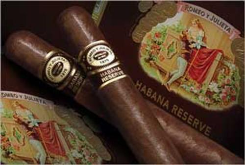 Romeo y Julieta Habana Reserve Rothschilde Tube (5x54 / 5 Pack)