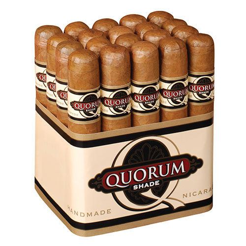 Quorum Shade Robusto (4.75x50 / Bundle 20)