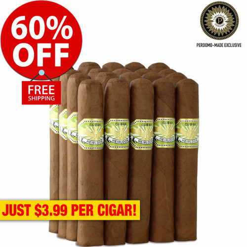 Cuban Heirloom Sungrown Robusto (4.88x50 / Bundle of 20) + 60% OFF RETAIL! + FREE SHIPPING ON YOUR ENTIRE ORDER!