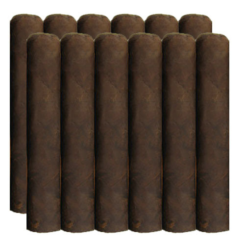 Cigar King Nude Phatties Maduro Super Gordo (7x72 / Bundle 12)