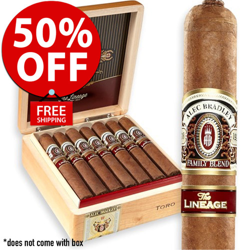 Alec Bradley The Lineage Robusto (5.25x52 / Pack 20)