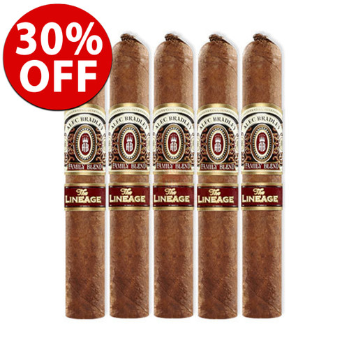 Alec Bradley The Lineage Robusto (5.25x52 / 5 Pack)
