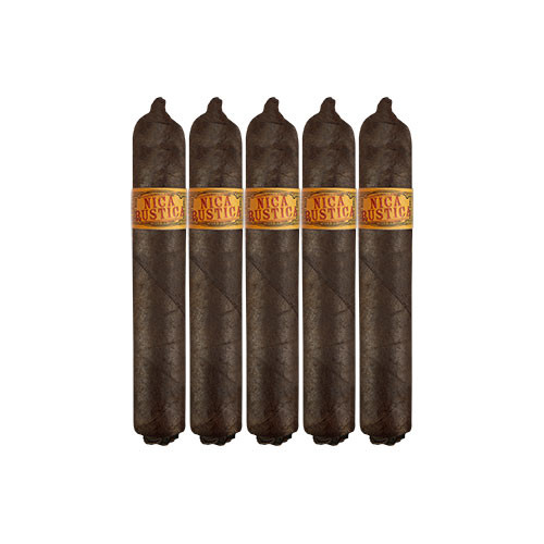 Nica Rustica by Drew Estate Short Robusto (4.5x50 / 5 Pack)