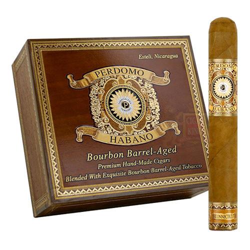 Perdomo Habano Bourbon Barrel Aged Connecticut Epicure (6x54 / Box 24)