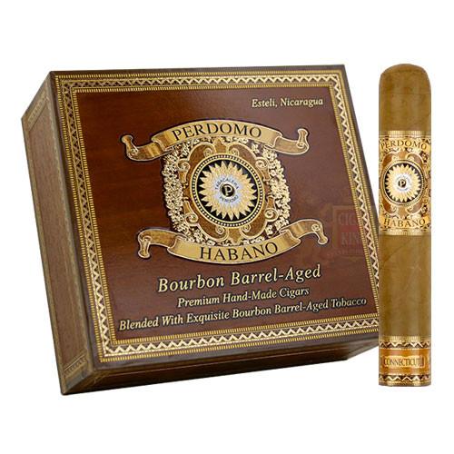 Perdomo Habano Bourbon Barrel Aged Connecticut Robusto (5x54 / Box 24)
