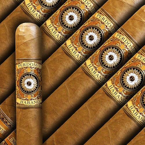 Perdomo Habano Bourbon Barrel Aged Connecticut Robusto (5x54 / 5 Pack)