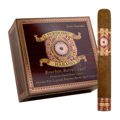 Perdomo Habano Bourbon Barrel Aged Sun Grown Epicure (6x54 / Box 24)