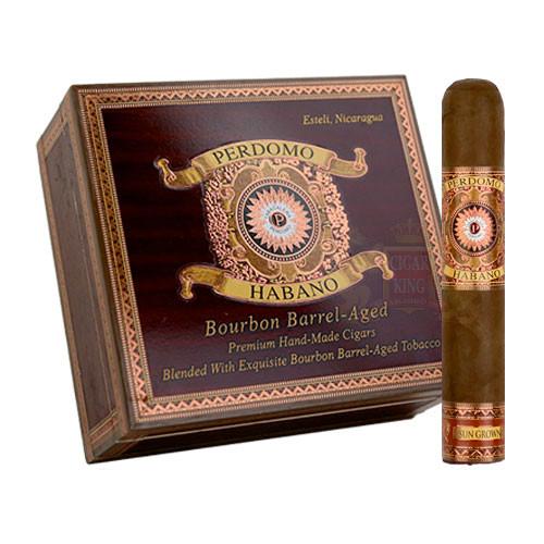 Perdomo Habano Bourbon Barrel Aged Sun Grown Robusto (5x54 / Box 24)