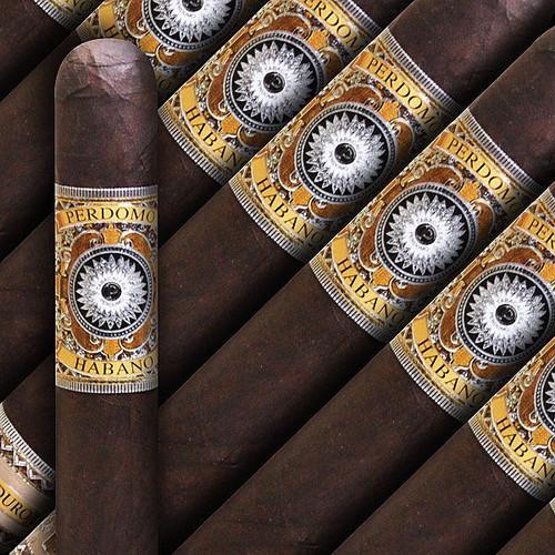 Perdomo Habano Bourbon Barrel Aged Maduro Robusto (5x54 / 5 Pack)