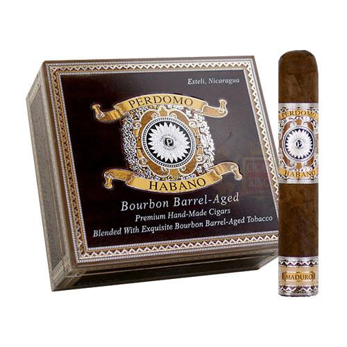 Perdomo Habano Bourbon Barrel Aged Maduro Robusto (5x54 / Box 24)