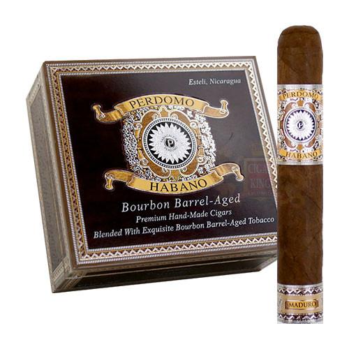 Perdomo Habano Bourbon Barrel Aged Maduro Gordo (6x60 / Box 24)