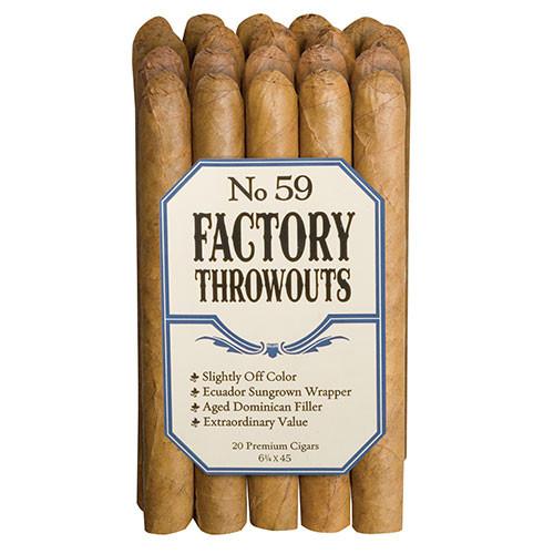 Factory Throwouts No. 59 (6.25x45 / Bundle 20)
