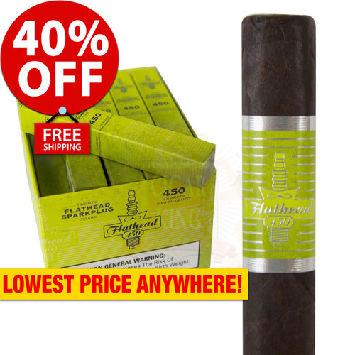 CAO Flathead V450 Sparkplug (4.5x50 / Box 25) + 40% OFF RETAIL! + FREE SHIPPING ON YOUR ENTIRE ORDER!