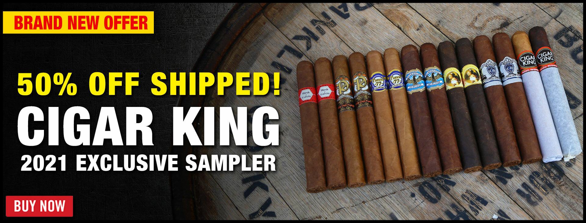 Cigar King 2021 Exclusive Flights!
