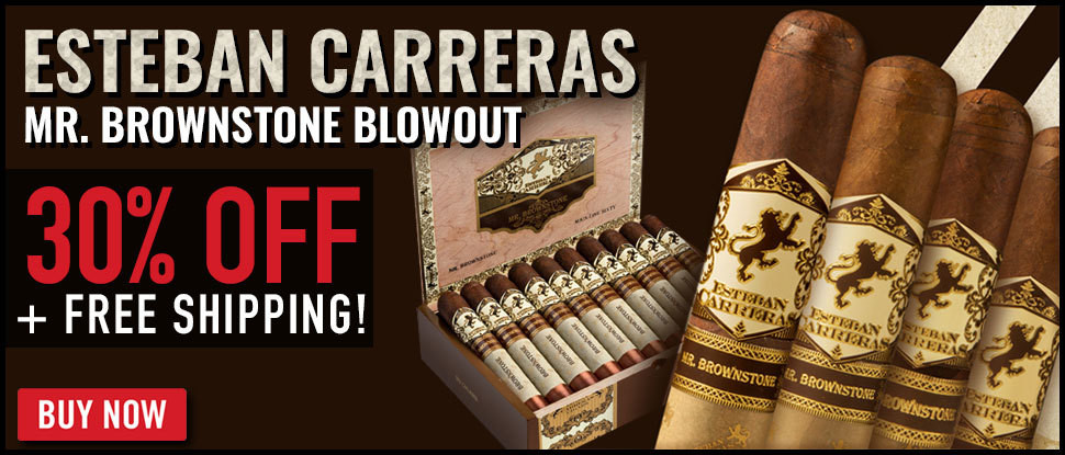 30% OFF Mr. Brownstone Esteban Carreras