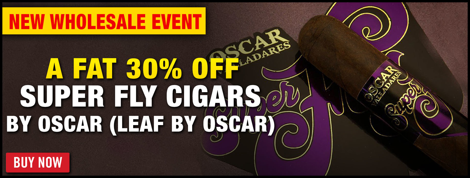 30% OFF SUPER FLY BY OSCAR!