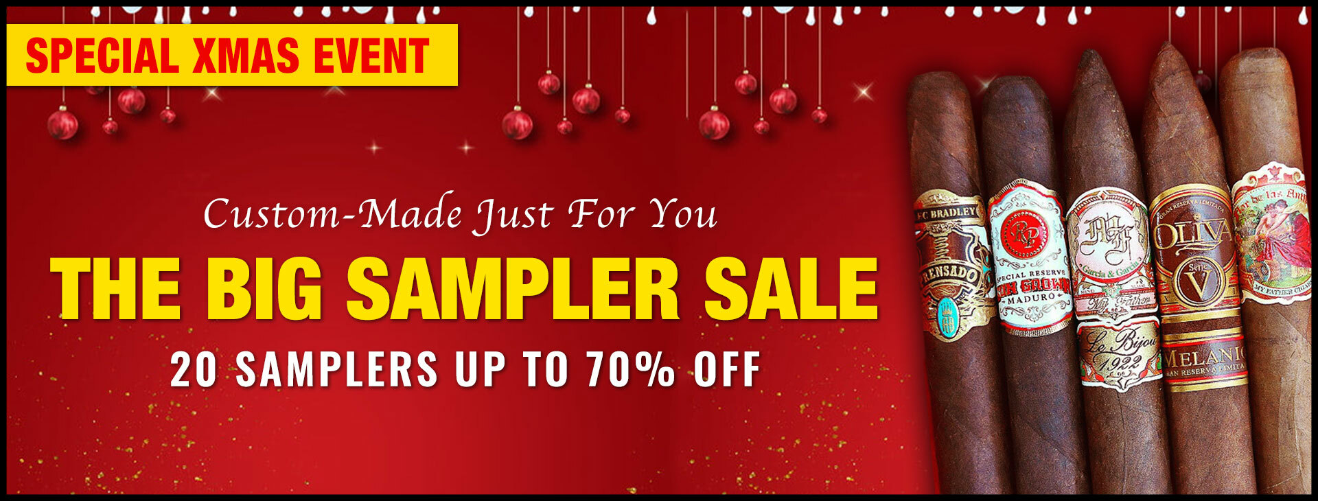 The Big XMAS Sampler Sale!