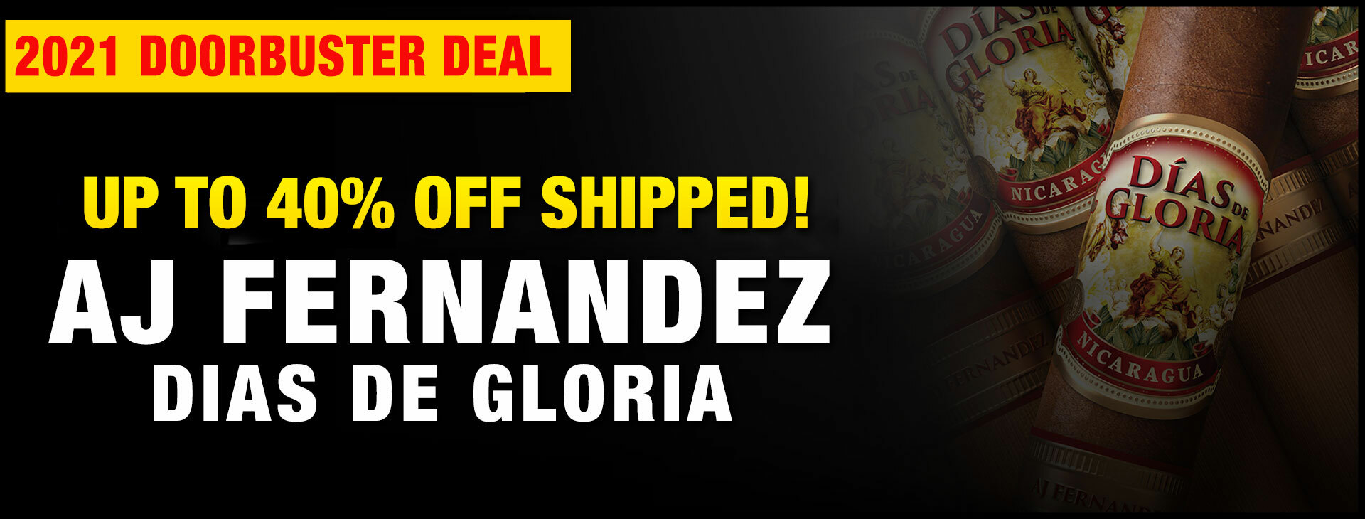 UP TO 40% OFF Dias De Gloria by AJ Fernandez