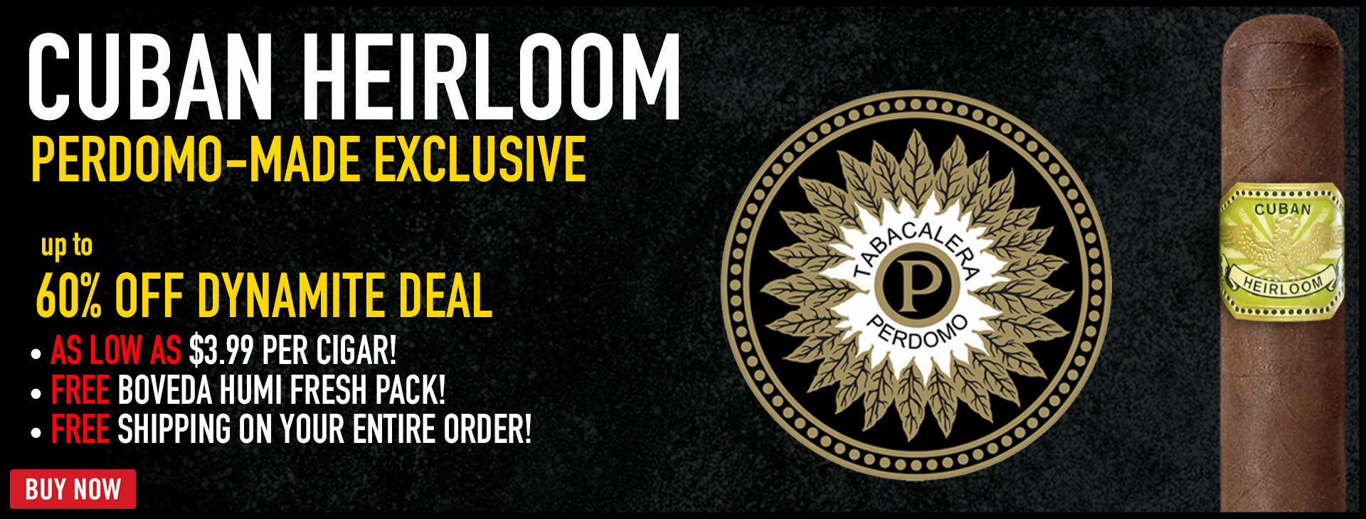 PRICE DROP: $3.99 Perdomo Cigars!