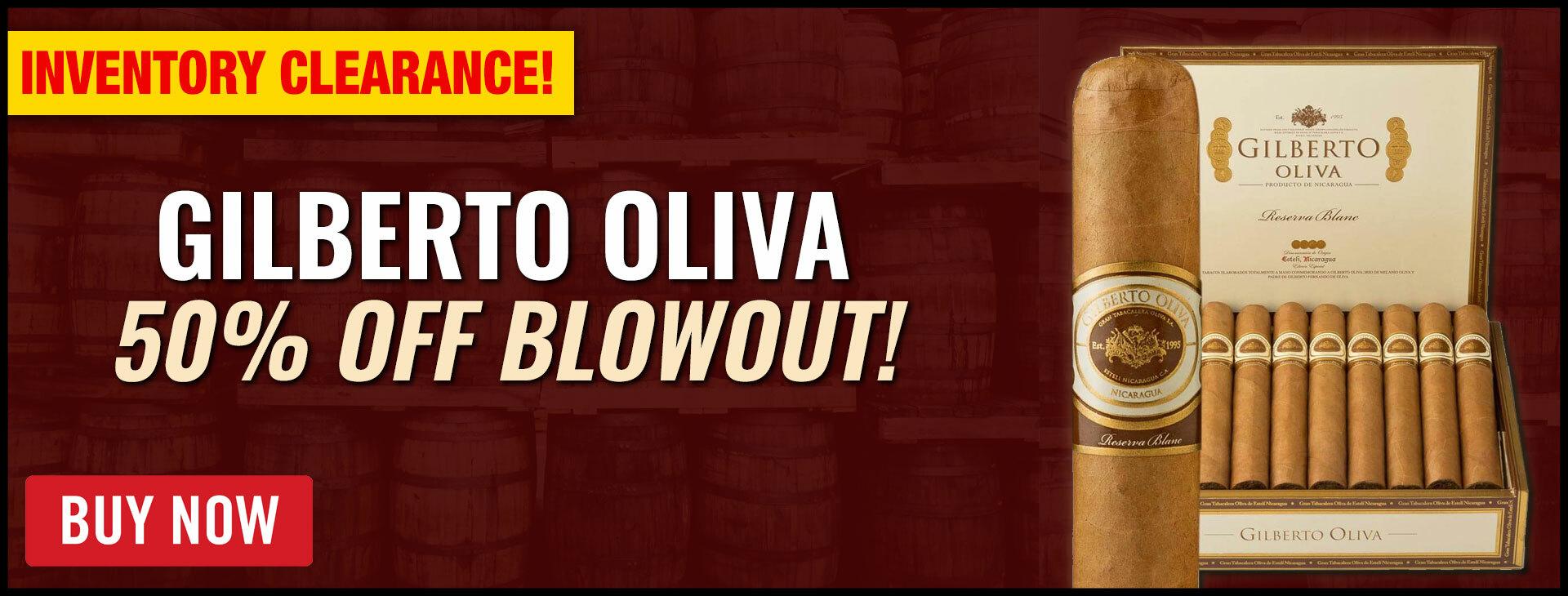 "50% OFF OLIVA ""GILBERTO OLIVA"""