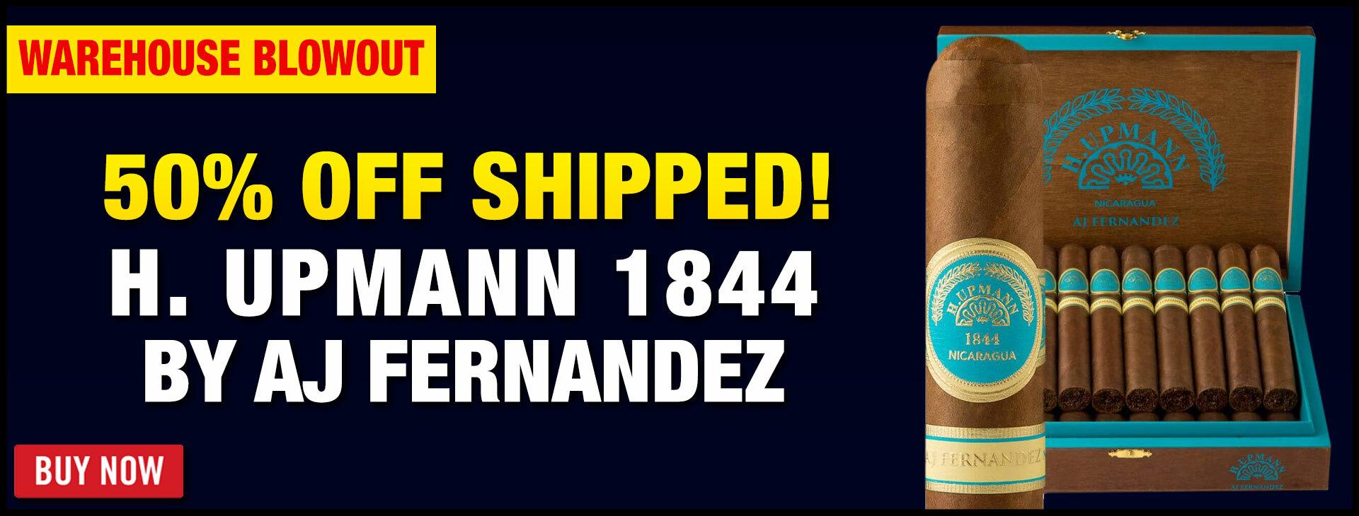 50% OFF Upmann By AJ Fernandez!