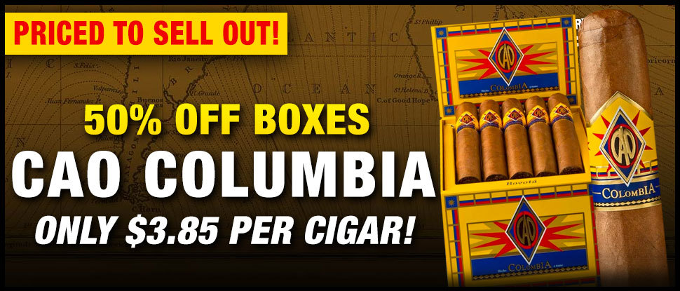BLOWOUT: 50% OFF CAO COLUMBIA!