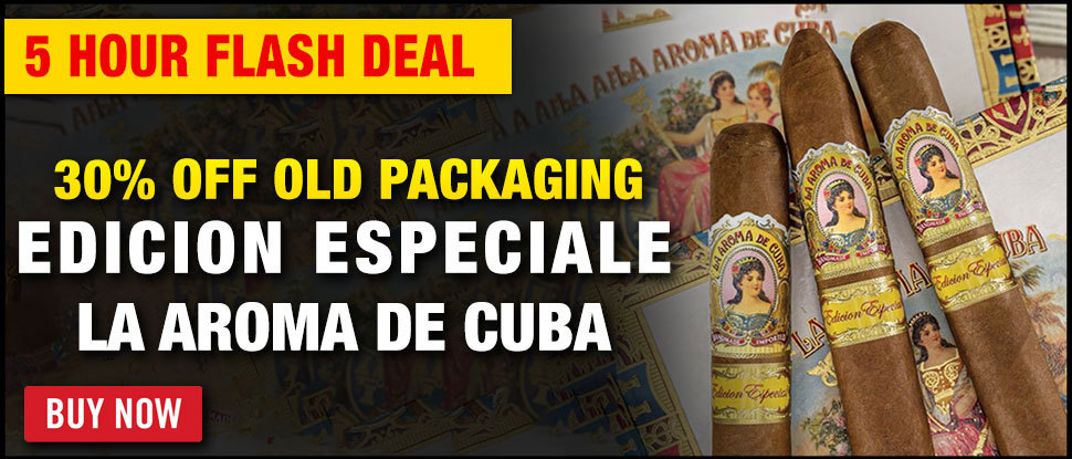30% OFF: La Aroma De Cuba Old Packaging