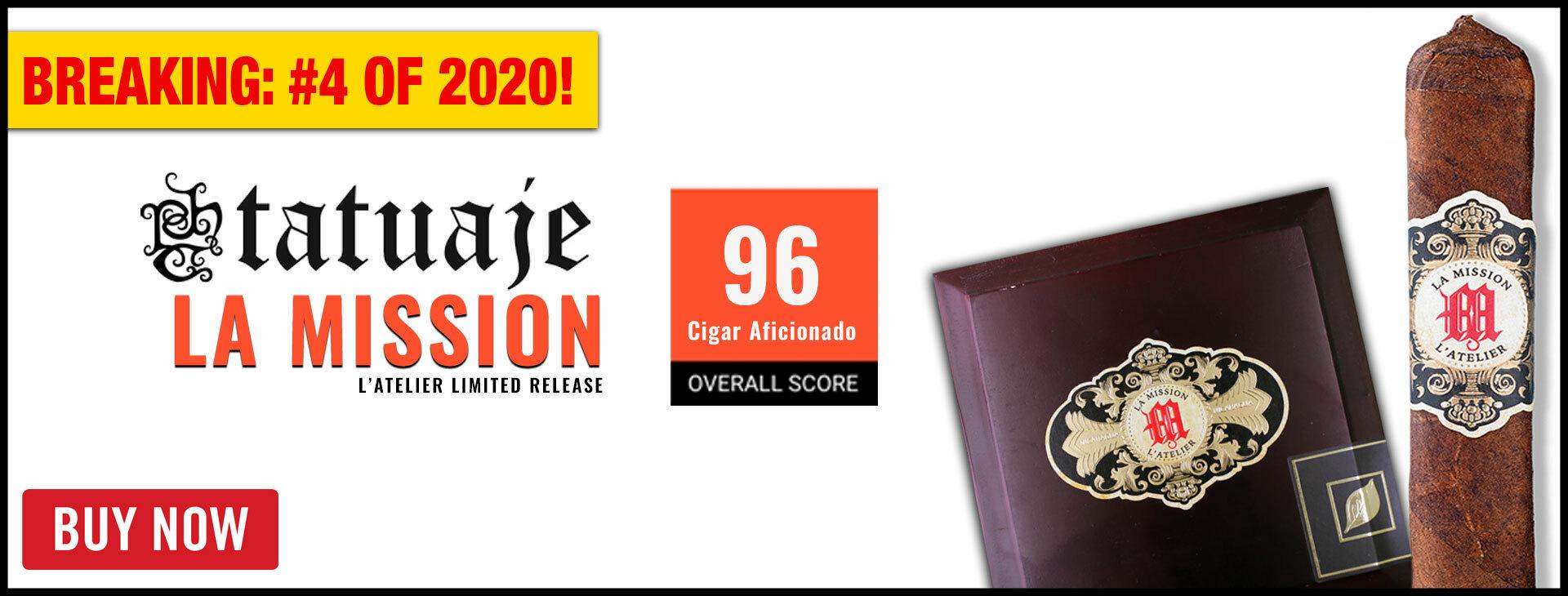 #4 CIGAR OF 2020: TATUAJE LA MISSION!