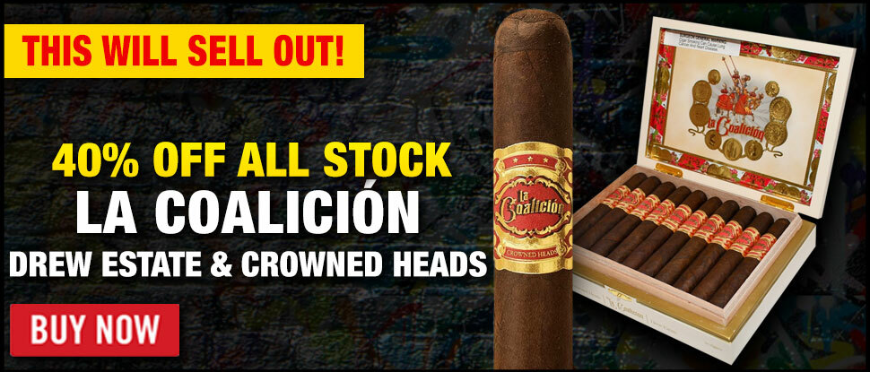 THIS IS HUGE: 40% OFF LA COALICION!
