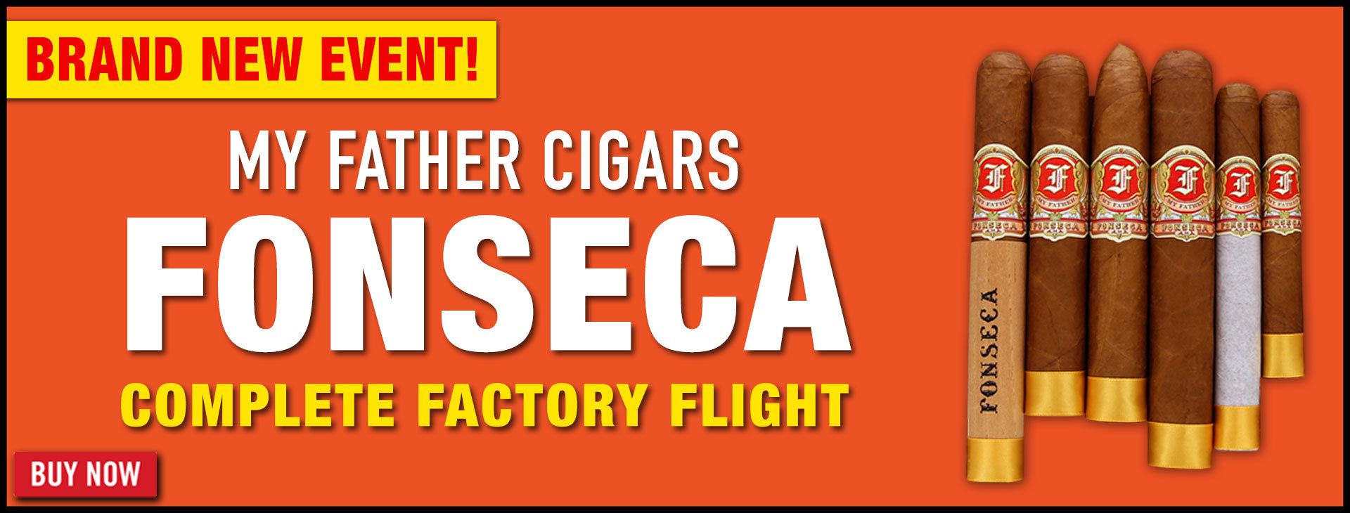 NEW: My Father Fonseca Factory Flights!