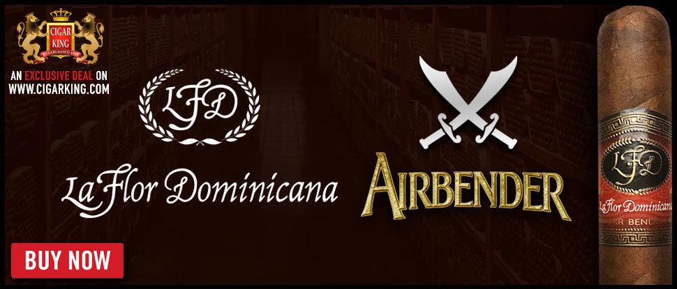 NEW: La Flor Dominicana Air Bender!