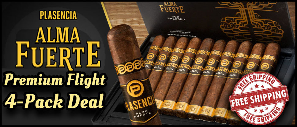 Plascencia Alma Fuerte 4-Pack Deal